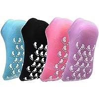 Ballet Barre Slipper Socks - ELUTONG Yoga Socks Anti Skip Pilates Socks With Grips For Women/Girls/Baby