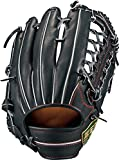 ZETT(ゼット) 野球 軟式 グラブ (グローブ) ネオステイタス 外野手 右投用 ブラックC(1900C) LH BRGB31817