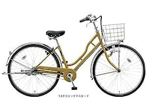 ブリヂストンサイクル(BS CYCLE) ノルコグ H ダイナモ 27型 シティサイクル NH704 TXクラシックマスタード 7661 完成車
