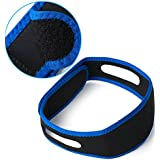 MQ Anti Snoring Chin Strap Stop Snoring Belt Anti Snore Chin Jaw Supporter Apnea Belt For Men Women Sleeping Products(1pcs)
