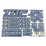 タミヤ TRFシリーズ No.137 TRFステッカーC (ブルーエッジ/ミラー) 42237