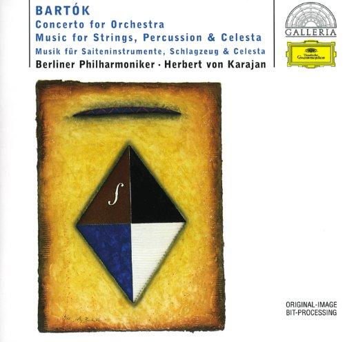 バルトーク:管弦楽のための協奏曲/弦チェレ
