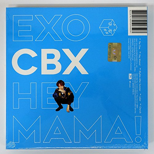 EXO-CBX - Hey Mama! (1st Mini Album) [BAEKHYUN ver.] CD with Folded Poster [KPOP MARKET特典: 追加特典フォトカードセット] [韓国盤]