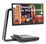 time 22インチワイド フルhd (アーム位置による制約無) 幅 約47.5cm × 高さ 約26.9cm HDMI(タイプA) 据置型 拡大読書器 CLEA VIEW Cフォルム HD22 オリジナル布ダストカバー [プレゼント セット]