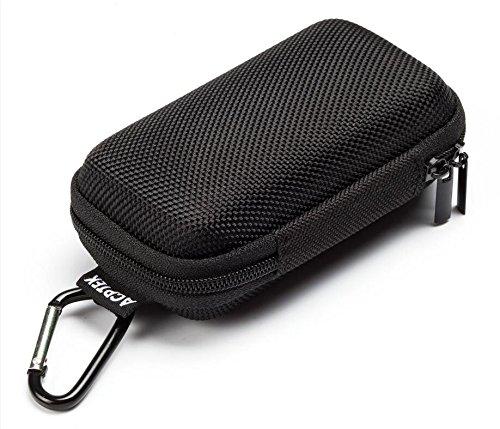 AGPtek MP3プレーヤー収納ポーチ キャリングケース 運動用 便利 対応型番:AGPtek A02/B03/B05/M07/C05/A06/A18など カラビナ付き(ブラック)