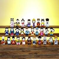 Korea Character Papertoy - 29 Set