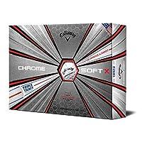 Chrome Soft X Triple Track Golf Balls (One Dozen) [並行輸入品]