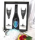 高級シャンパーニュ専門店銀座商会がご提供する Dom Perignon Vintage 2009 by Tokujin Yoshioka 750ml Flute Glasses Set 【正規代理店商品】(Gift Box 付) ドンペリ 2009 フルートグラスセット