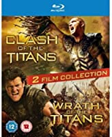 Clash/Wrath of the Titans [Blu-ray] [Import]