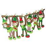 Plush Elf???6?Long Arm ElvesクリスマスギフトFavor装飾オーナメントBoys Girls Top Selling