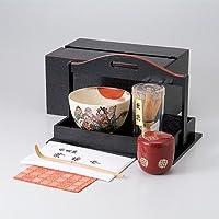 茶道具 茶道具(茶箱)手提茶箱揃 [ 26.2 x 17.1 x 17.1cm ] 【 茶道具 抹茶 茶道 茶器 】
