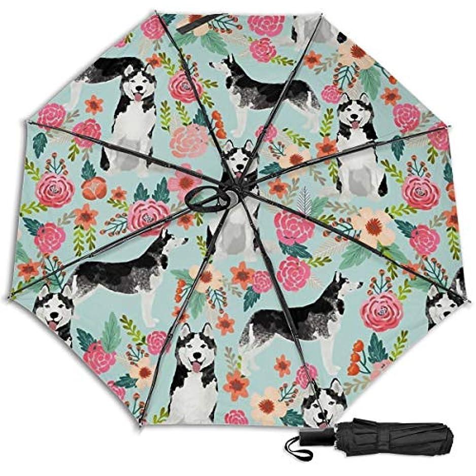 酔うフィードオン悪化するハスキーフローラル日傘 折りたたみ日傘 折り畳み日傘 超軽量 遮光率100% UVカット率99.9% UPF50+ 紫外線対策 遮熱効果 晴雨兼用 携帯便利 耐風撥水 手動 男女兼用