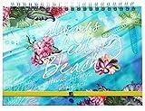 ハワイ手帳マンスリー2020 10月始まり A5サイズ マンスリー ハードカバー (Always Feel Beach)