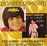 Donny Osmond Album / To You With Love Donny