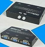 ZMAYA STAR 2ポート自動VGA切替器 パソコンVGA 2ポート入力 1ポート出力15ピン 2入力1出力 最大解像度2048×1536。ZA-350