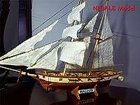 模型 新バージョンスペインボルティモアスクーナー船モデルキット Halcon レトロ大砲豪華なヨットモデル