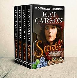 Mail Order Bride: Bonanza Brides Find Prairie Love Box Set: Historical Clean Western River Ranch Romance by [Carson, Kat]