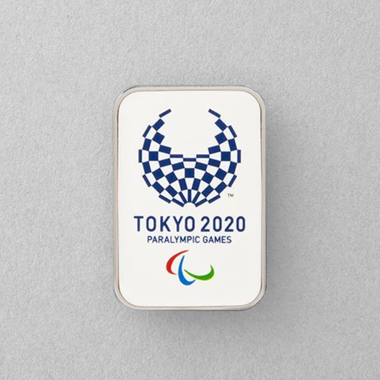 東京 2020 公式 パラリンピック エンブレム ピンバッジ オフィシャルライセンス グッズ