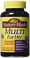 Nature Made Multi For Her - 120 Tablets by Nature Made
