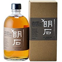 シングルモルト明石×華鳩4年(原酒)63度【江井ヶ嶋酒造】兵庫県 500ml