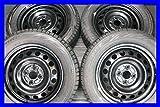 【中古スタッドレスタイヤ】【送料無料】4本セット ブリヂストン ブリザック REVOGZ 175/65R15  /   15x5.0  100-4穴  アクアに! 中古タイヤ W15171223007