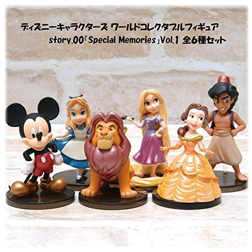 ディズニーキャラクターズ ワールドコレクタブルフィギュア story.00「Special Memories」Vol.1 全6種セット