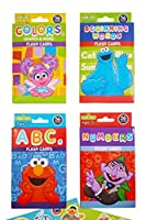 Sesame Street Educational Flash Cards for Early Learning. Set includes Colours, Shapes & More, ABCs, Numbers and Beginning Words. Plus . Sesame Street Stickers.