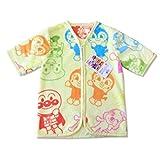 アンパンマン キャラクター 半袖 スリーパー(ベビー用かいまき 35×50cm)1612518YE おくるみ 着る毛布 パジャマ
