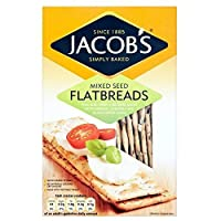 Jacob's Flatbreads - Mixed Seeds (150g) by Groceries [並行輸入品]