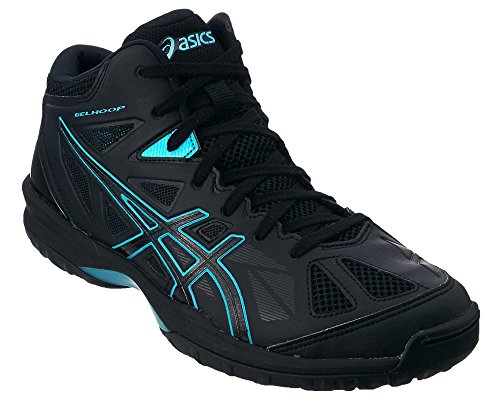 asics(アシックス)ゲルフープ V8 バスケットボールシューズ GELHOOP 9039 ブラック TBF330 9039ブラック×アクア 27.5