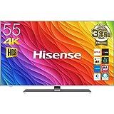 ハイセンス 55V型 液晶 テレビ 55A6500 4K 外付けHDD裏番組録畫対応 HDR対応 2018年モデル