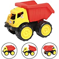 lbzeビーチ車のおもちゃ、Forklift Truckおもちゃ、プッシュToy Car Beach Bulldozer Truck Play Construction Vehicles Forklift for Kids toddlers-tractor、ブルドーザDumper
