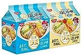 日清ラ王 冷し中華 しょうゆだれ 5食パック + ごまだれ 5食パック (二つの味が楽しめる計10食のセット品)