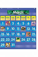 Monthlyカレンダーポケットチャート