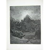 1881 のギュスターブ Dore の楽園の無くなった Gorgons のヒュドラのキメラ
