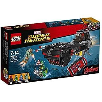 レゴ (LEGO) スーパー・ヒーローズ アイアンスカル サブアタック 76048