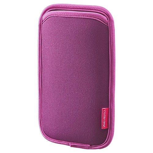 サンワサプライ マルチスマートフォンケース(5.5インチ用) PDA-SPC15P 1個