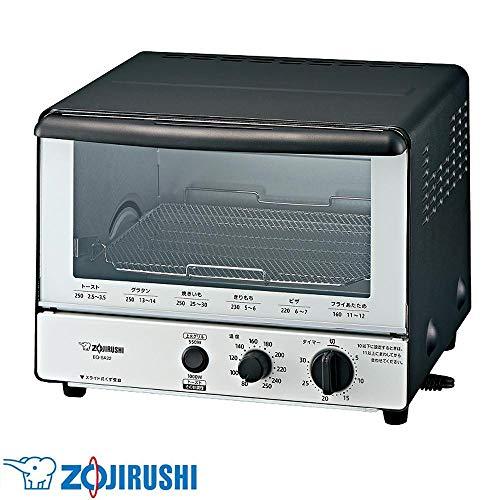小さめのキッチンにも置きやすいサイズのオーブントースター。 象印 オーブントースター こんがり倶楽部 BW(モノトーン) EQ-SA22-BW 〈簡易梱包