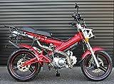 SaCHSBIKES マダス125 MadAss125 ザックスバイク 125ccバイク 二輪 赤