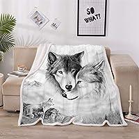 毛布、毛布ふわふわした毛布、スーパーソフトな暖かいフリース毛布両面ステッチのブランケット付き毛布, A, 150*200cm