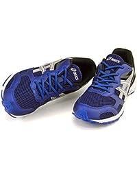[アシックス] asics 男の子 キッズ 子供靴 運動靴 通学靴 ランニングシューズ スニーカー レーザービーム RB 軽量 通気性 カジュアル スポーツ スクール 学校 LAZERBEAM RB TKB207 ネイビーブルー/シルバー 21.5cm