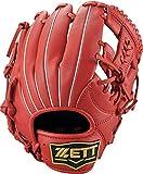 ZETT(ゼット) ソフトボール 2号対応(小学生用) デュアルキャッチ グラブ (グローブ) オールラウンド用 右投げ用 レッド(6400) BSGB75910