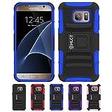 Galaxy s7ケース、hlct丈夫な耐衝撃デュアルレイヤーPCとソフトシリコンケース付きスタンドキックスタンドfor Samsung Galaxy s7( 2016) Samsung Galaxy S7