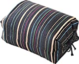 エムール そばがら 高さが調整できる ごろ寝枕 25×18×8~12cm 日本製 紺色