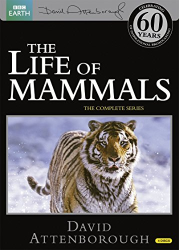 BBC The Life of Mammals -哺乳類の世界- DVD-BOX (10エピソード, 498分) BBC EARTH ライフシリーズ [DVD] [Import] [PAL, 再生環境をご確認ください]