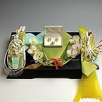 結納返し -記念品メインの結納品-美雪記念品セット1(毛せん・風呂敷付) 結納屋さん.com r2101-01