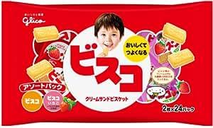 江崎グリコ ビスコ大袋 アソートパック 48枚×12個