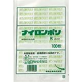 福助工業 ナイロンポリ Kタイプ規格袋 No.9B4 (200枚)巾160×長さ200mm