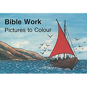 Bible Work (The Colouring Books)