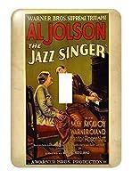3drose LSP _ 171655_ 1イメージのAd for Jazz Singer Withアル・ジョルスン–Single切り替えスイッチ